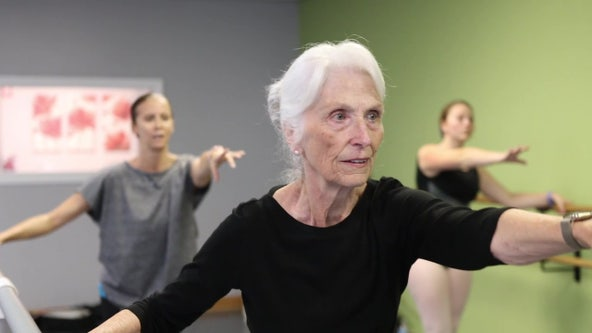 'I always wanted to dance': Bay Area woman fulfills lifelong dream of being a ballerina at age 76