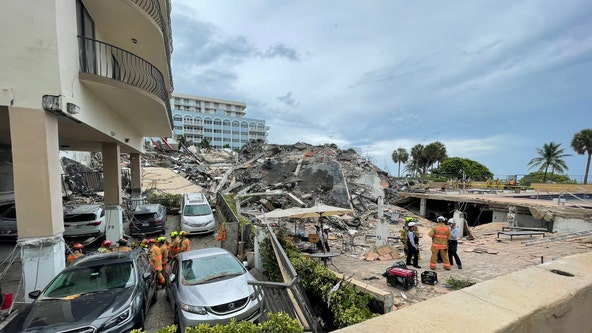 Search for survivors continued overnight after South Florida condo collapse