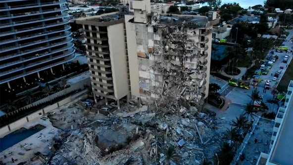 Florida condo partial collapse: Nearly 100 remain unaccounted for as search-and-rescue continues