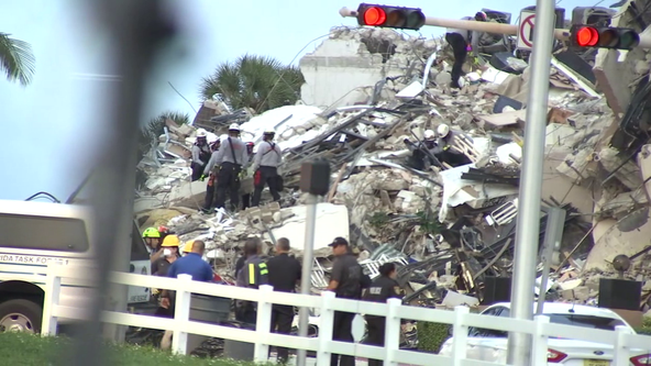 Inside the search for survivors after devastating partial collapse of South Florida condo