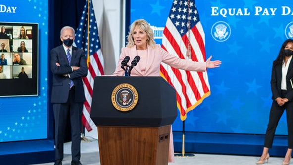 First Lady Jill Biden, Tampa Bay Lightning team up to boost vaccine efforts in Tampa