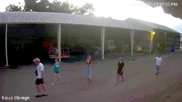 Video shows chaotic crime spree at Mulberry Railcar lot