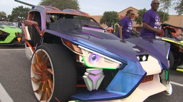 Tampa paints the town purple to raise Alzheimer's awareness