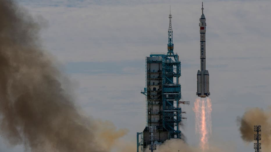China Launches Astronauts To Space Station