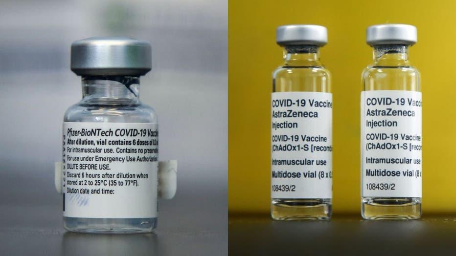 Pfizer AZ vials