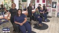 Pampering nurses through the pandemic at Salon Eunoia