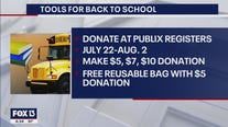 FOX 13 teams up with Publix for 'Tools for Back To School' program