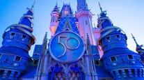 Disney completes Cinderella's Castle decor for 50th anniversary