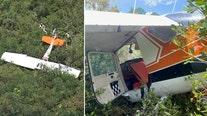 Small plane crashes in Brooksville wildlife management area