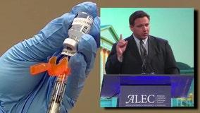 Florida legislature would have to approve $100 vaccine incentive, DeSantis says