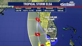 Tropical Storm Elsa tracks toward Cuba; watch issued for Tampa Bay coast