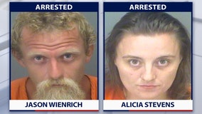 St. Petersburg couple charged with child sex abuse