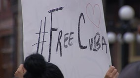 DC rally to support Cuban protesters organized by Largo man