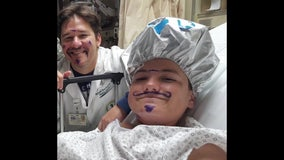 Teen raises awareness about kids and skin cancer with 'Blue Mustache' Facebook page