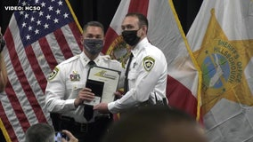 HCSO welcomes third generation of family literally named for service