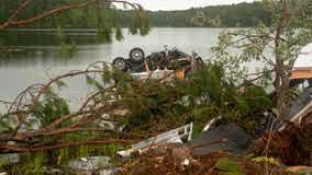 Elsa kills 1 in Florida, spawns tornado hurting 10 at Georgia naval base
