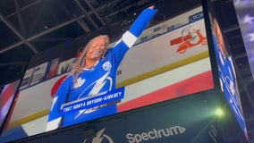 Veteran's performance of national anthem becomes tradition at Amalie Arena