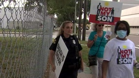 'Not My Son' campaign urges end to violence in St. Petersburg