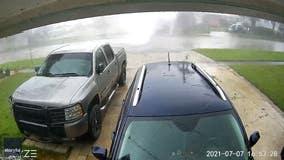 'What we saw was crazy': Security camera captures Jacksonville tornado