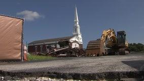 $100,000 needed to save Seminole Heights Baptist Church steeple