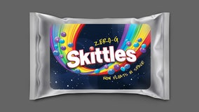 Skittles releases Zero-g pack after candy goes to space