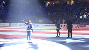 Lightning national anthem singer likely exposed to COVID-19 during Stanley Cup celebration, husband says