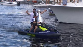 Stanley Cup dented during Tampa Bay Lightning championship festivities