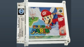 Unopened Super Mario 64 game from 1996 sells for $1.56 million