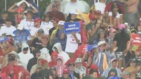 Thousands attend former President Trump's Sarasota rally