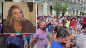 Cuban-born historian: Protests are overdue, but change may take more