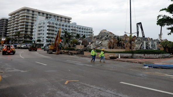 Engineer warns that major avenue next to collapsed South Florida condo could fail