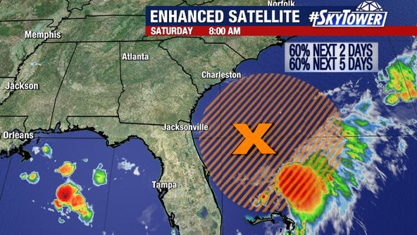 National Hurricane Center watching for possible development off the coast of Florida
