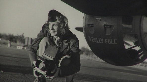 Dali Museum exhibit features works of model turned photographer embedded with U.S. Army during WWII
