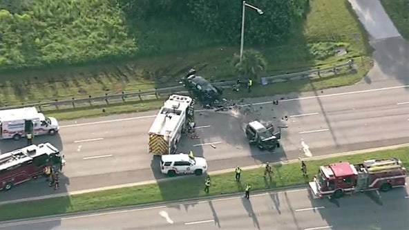 1 dead, 2 injured in Palm Harbor crash after driver crosses median, troopers say