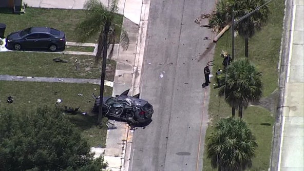 Tyrone Boulevard in St. Petersburg closed for serious crash