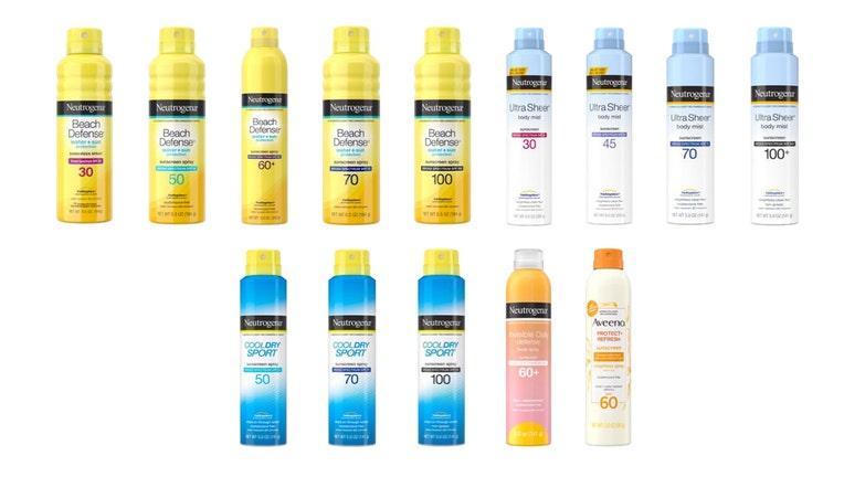 Sunsscreen Recall