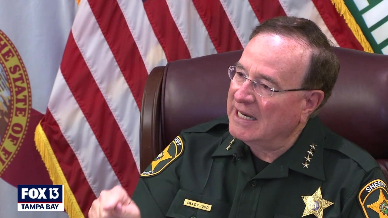 Sheriff Grady Judd: 'Don't listen to the politicians; get your vaccine'