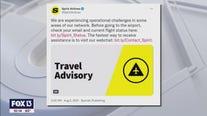 Passengers frustrated as Spirit cancels multiple flights