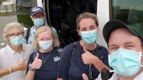 Bay Area medical teams go to Louisiana after Ida devastates area already struggling under pandemic