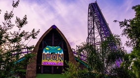 Busch Gardens says Iron Gwazi roller coaster to open March 2022 after 2-year pandemic delay