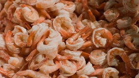 Nationwide frozen shrimp recall expands due to salmonella concerns