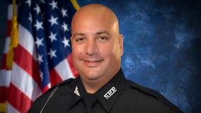 Widow urges vaccines at funeral for St. Pete officer who died from COVID-19 complications