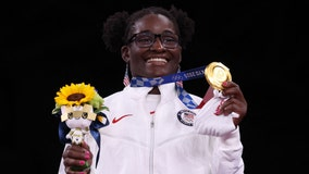 Olympics: Tamyra Mensah-Stock 1st Black US woman to win gold in freestyle wrestling