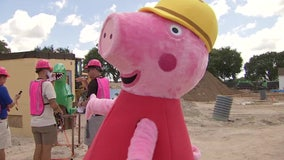 Peppa Pig offers sneak peek at new Winter Haven theme park