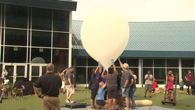 Wharton High School physics students take experiments to new heights at MOSI
