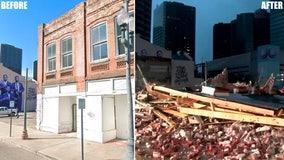 New Orleans historic jazz landmark collapses during Hurricane Ida