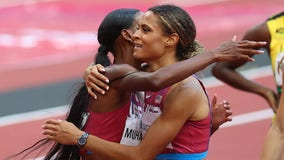 Women's 400m hurdles: US wins Olympic gold and silver in fastest race ever recorded