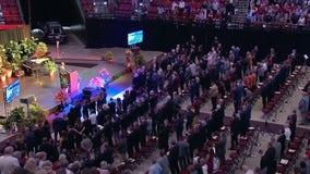 'Faith, family and football:' 2,500 gather to say goodbye to Coach Bobby Bowden