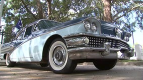 This 1958 Buick Special gets a shot of Lightning