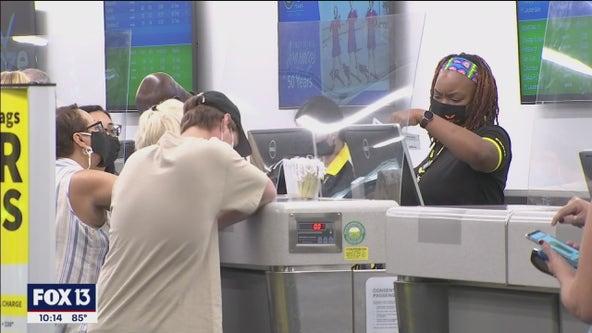 Spirit Airlines cancels hundreds of flights, leaving travelers stranded in Tampa